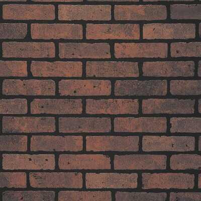 DPI 4 Ft. x 8 Ft. x 1/4 In. Red Brick Gaslight II Wall Paneling