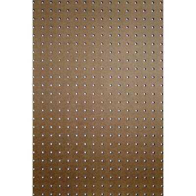 DPI 4 Ft. x 8 Ft. x 1/8 In. Brown Green Core Hardboard Pegboard