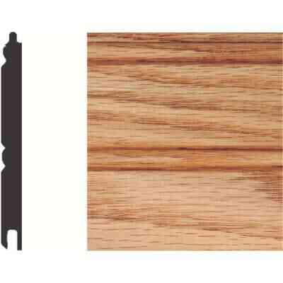 House of Fara 5/16 In. W. x 3-1/8 In. H. x 8 Ft. L. Unfinished Solid Red Oak Wainscot (6-Pack)