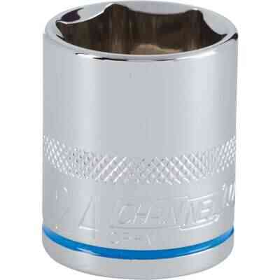 Channellock 1/2 In. Drive 24 mm 6-Point Shallow Metric Socket
