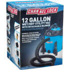 Channellock 12 Gal. 5.0-Peak HP Wet/Dry Vacuum with Blower Image 5