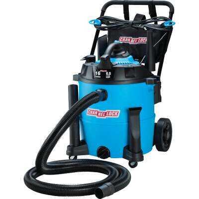 Channellock 16 Gal. 6.5-Peak HP Wet/Dry Vacuum with Blower