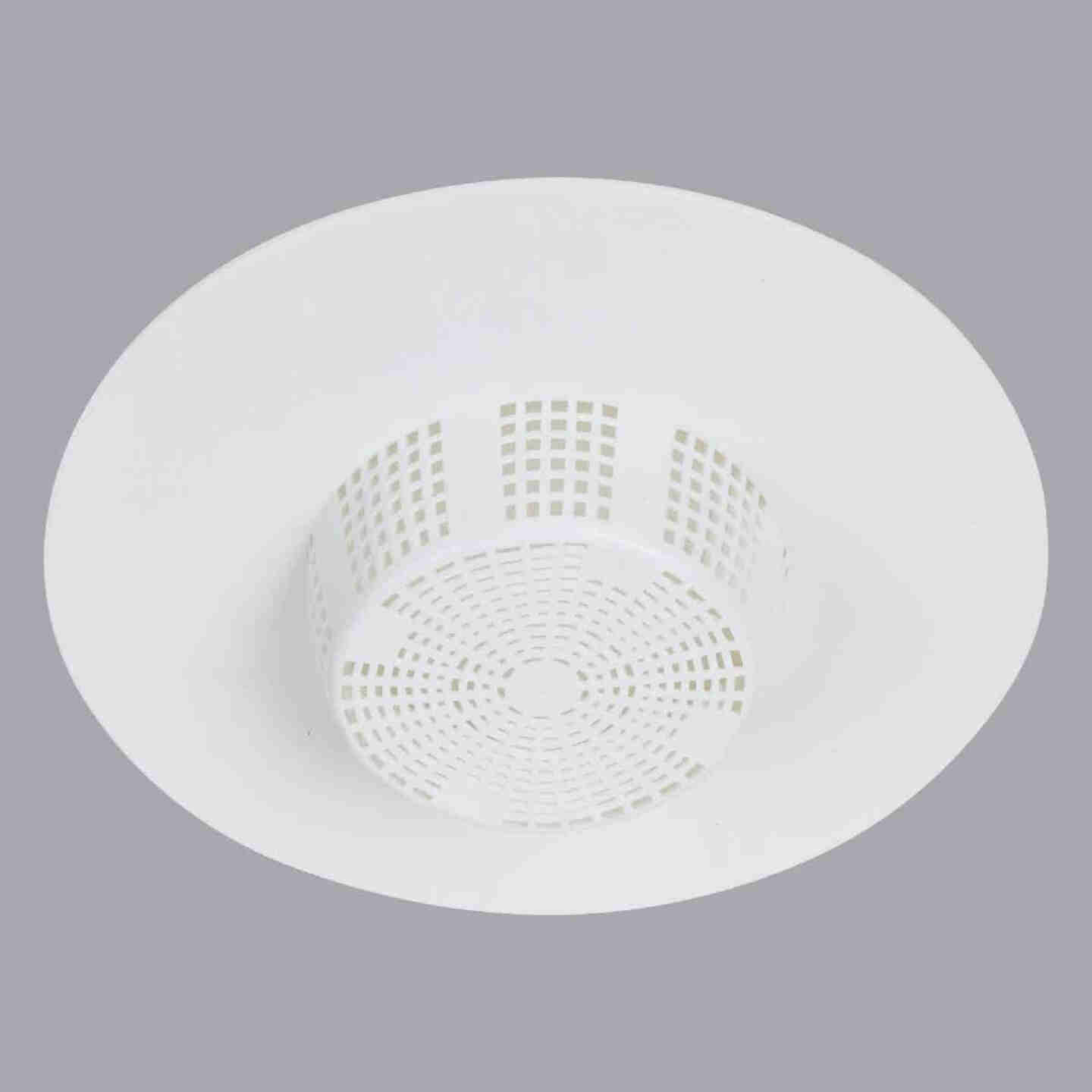 Do it White Hair Snare Sink/Tub Drain Strainer Image 1