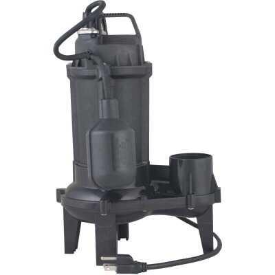 Do it 1/3 H.P. Cast Iron Sewage Ejector Pump
