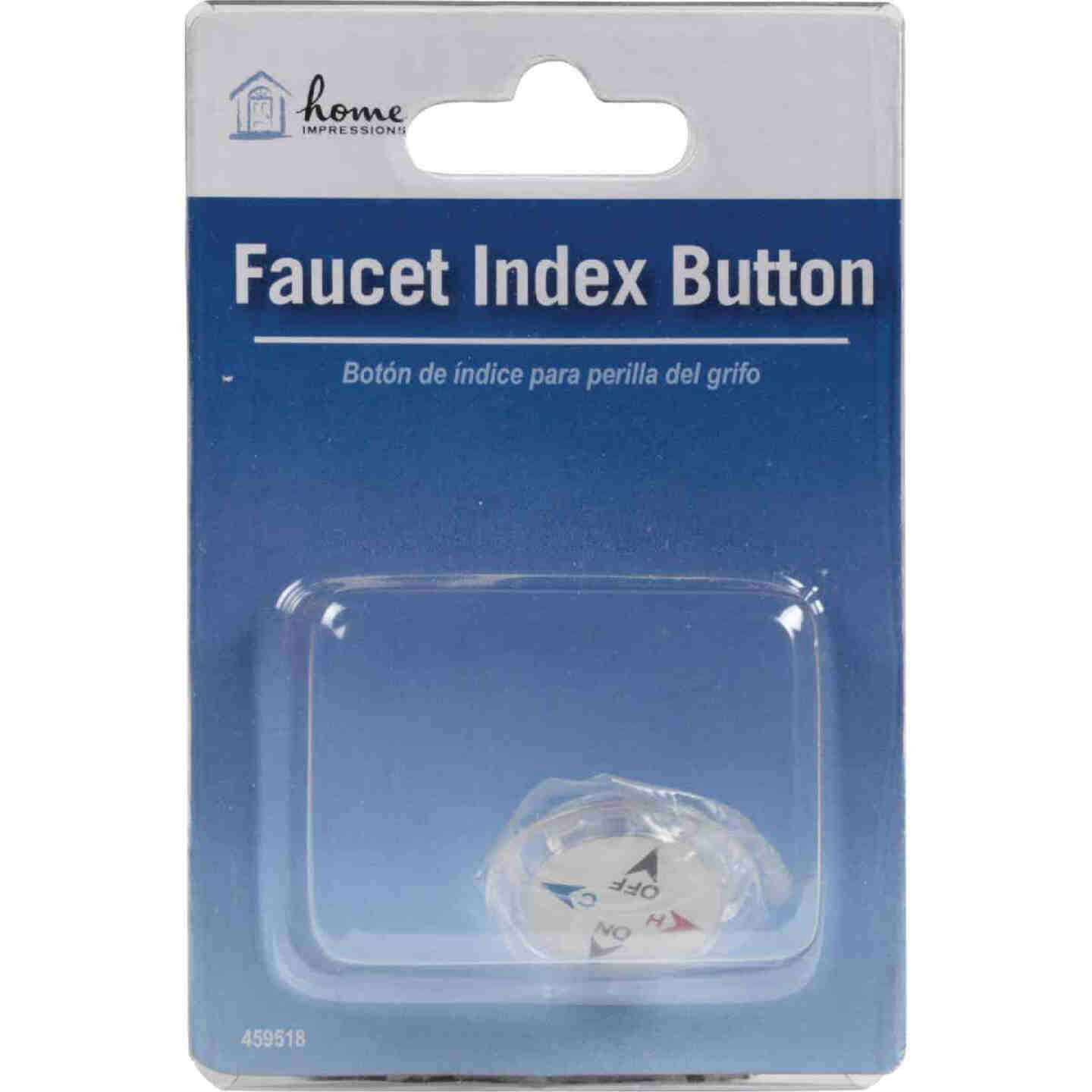 Home Impressions Faucet Index Replacement Handle Button Image 2
