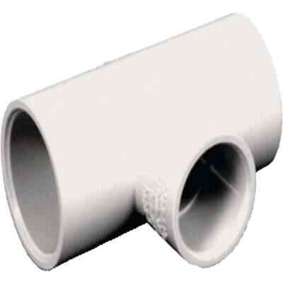 Charlotte Pipe 1/2 In. x 1/2 In. x 1/2 In. Solvent Weldable CPVC Tee (10-Pack)