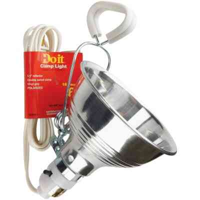 Do it 60W 5-1/2 In. Utility Clamp Lamp