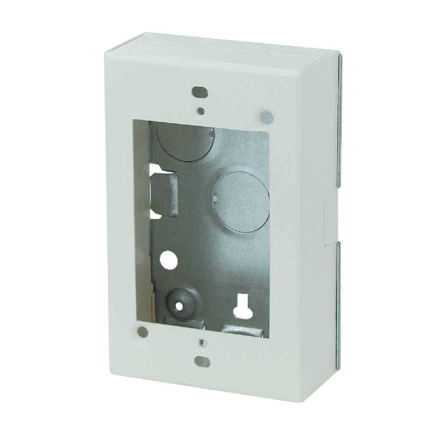 Wiremold Ivory Steel 1-3/8 In. Outlet Box Image 1