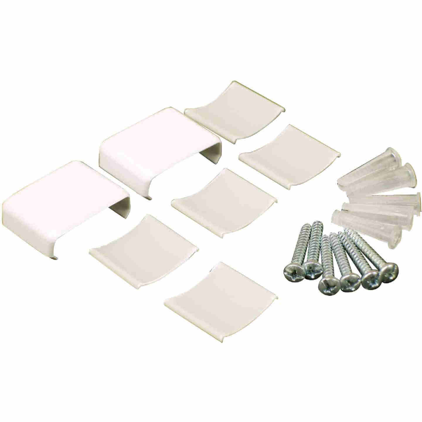 Wiremold White Wire Protector Accessory Kit Image 1