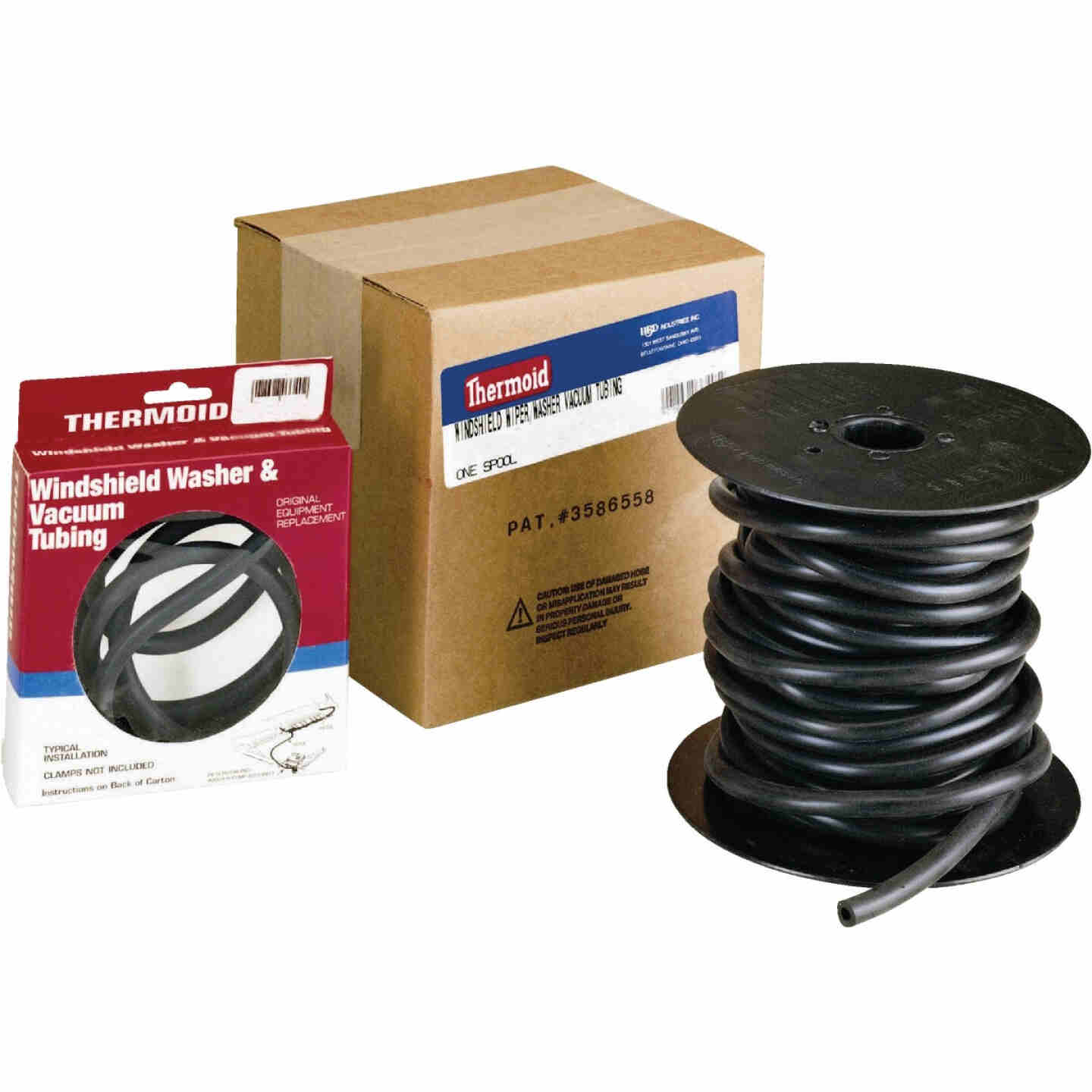 Thermoid 5/32 In. ID x 50 Ft. L. Bulk Windshield Washer Hose Image 1