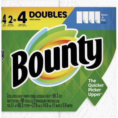 Bounty Select-A-Size Paper Towel (2 Double Rolls)