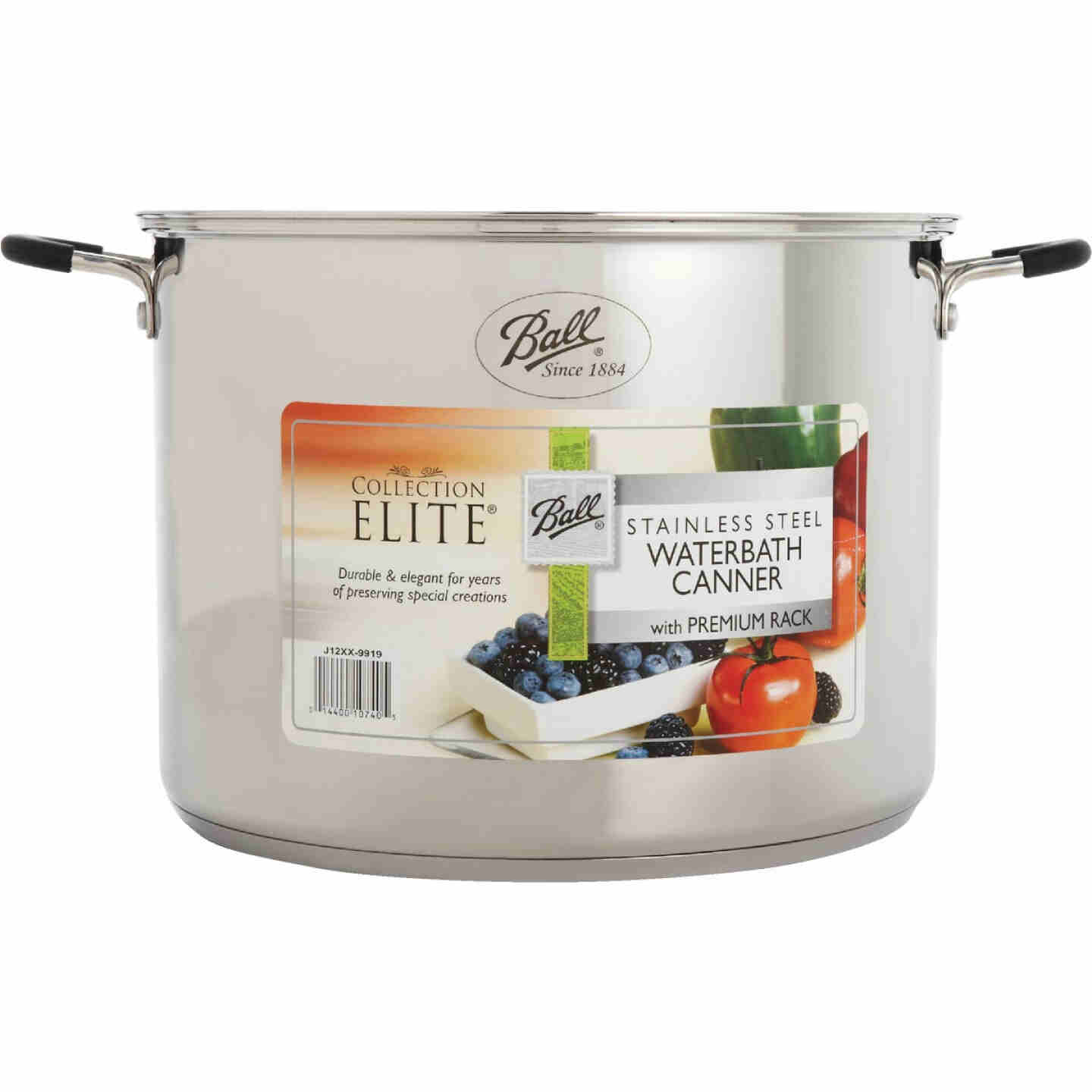 Ball Collection Elite 21 Qt. Stainless Steel Canner Image 2