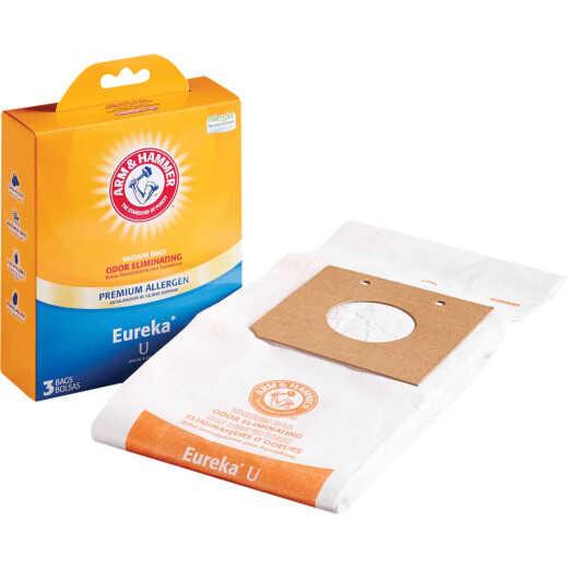 Arm & Hammer Electrolux Eureka U Vacuum Cleaner Bag (3-Pack)