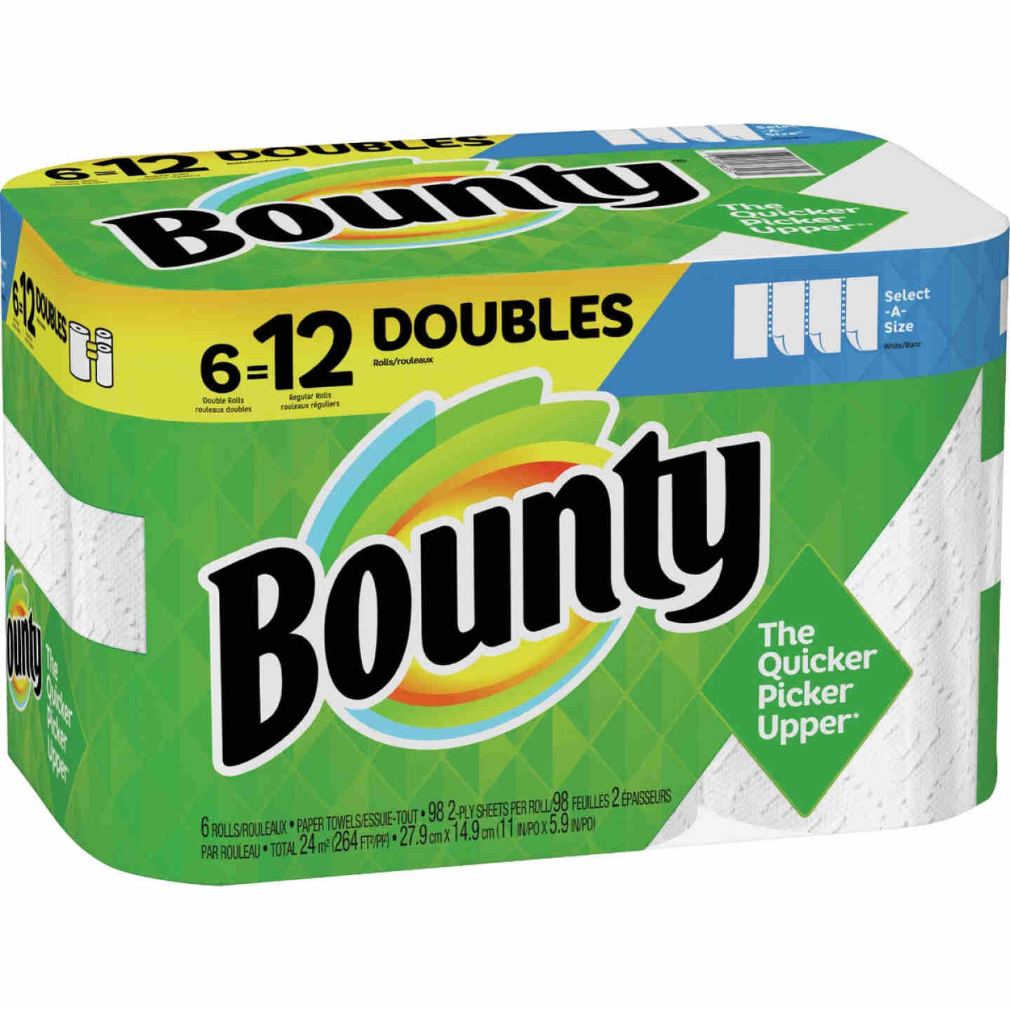 Bounty Select-A-Size Paper Towels (6 Double Rolls) Image 1