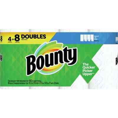 Bounty Select-A-Size Paper Towels (4 Double Rolls)