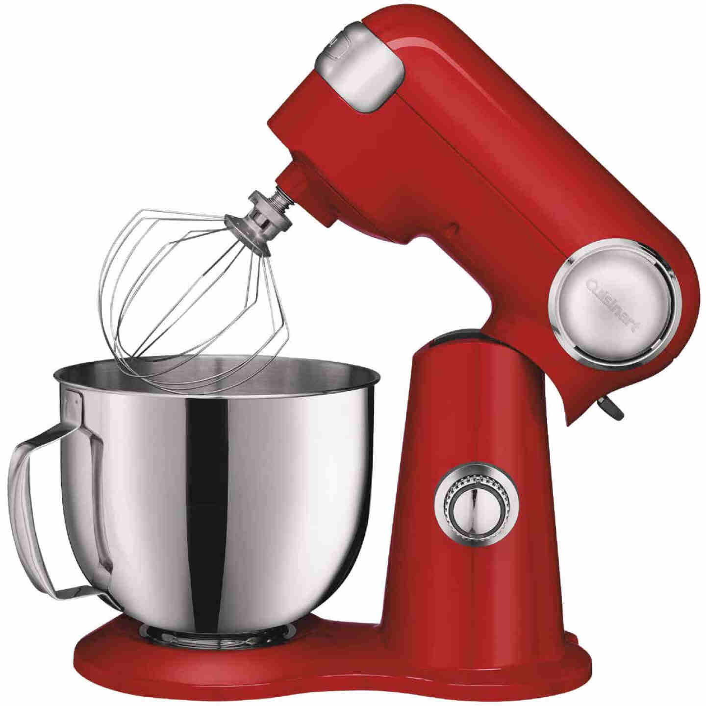 Cuisinart Precision Master 5.5 Qt. Red Stand Mixer Image 1
