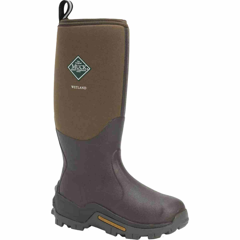Muck Boot Co Wetland Men's Size 8 Waterproof Hunting Boot Image 1