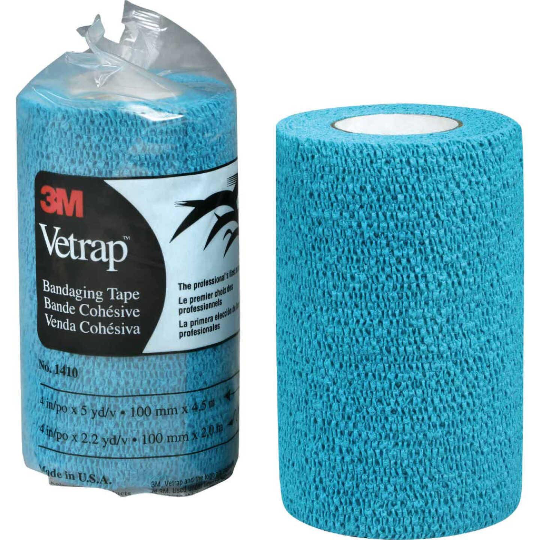 3M Vetrap 4 In. x 5 Yd. Blue Bandaging Wrap Image 1