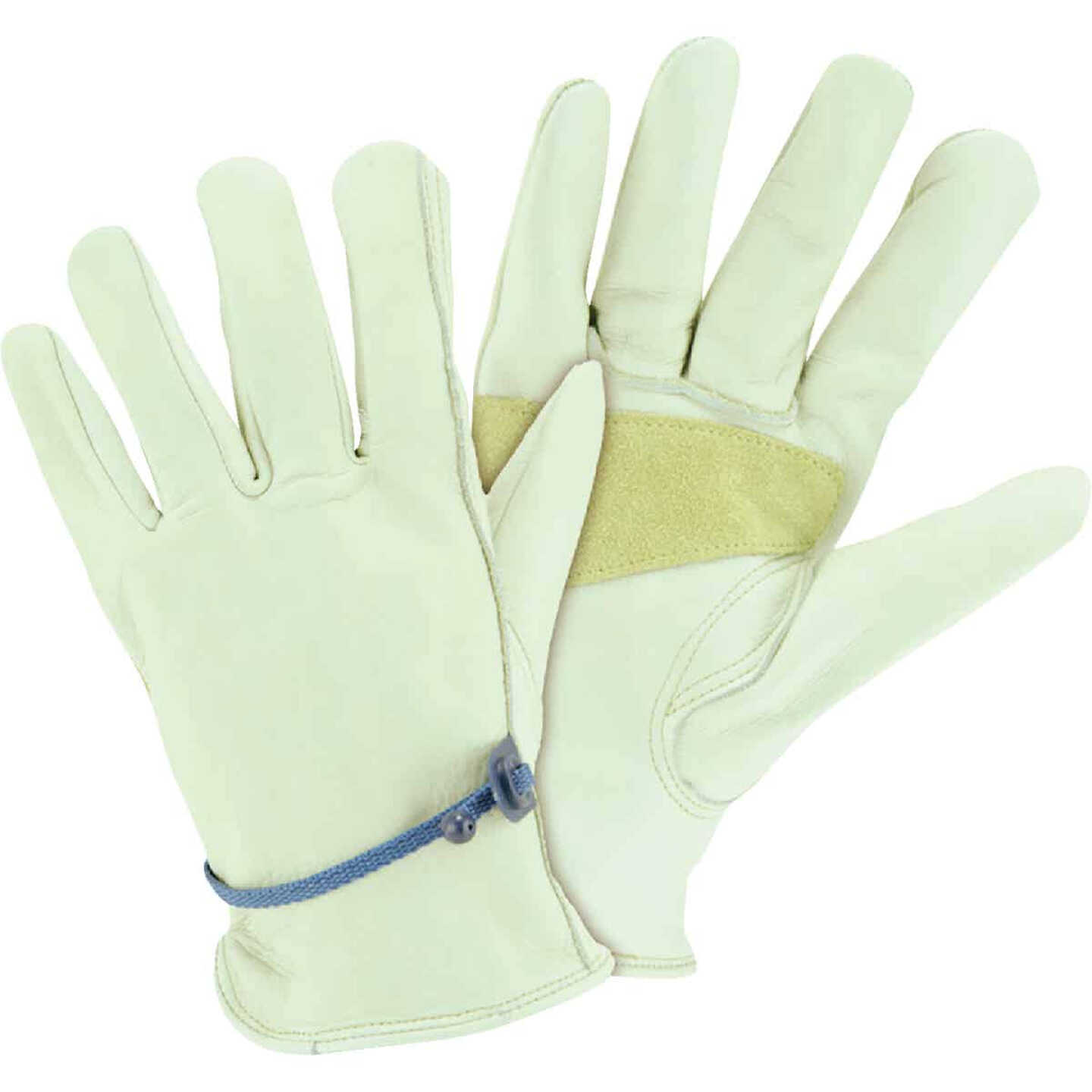 West Chester Protective Gear Men's Medium Heavy-Duty Leather Driver Glove Image 1