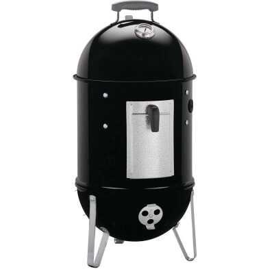 Weber Smokey Mountain Cooker 14 In. Dia. 286 Sq. In. Vertical Charcoal Smoker