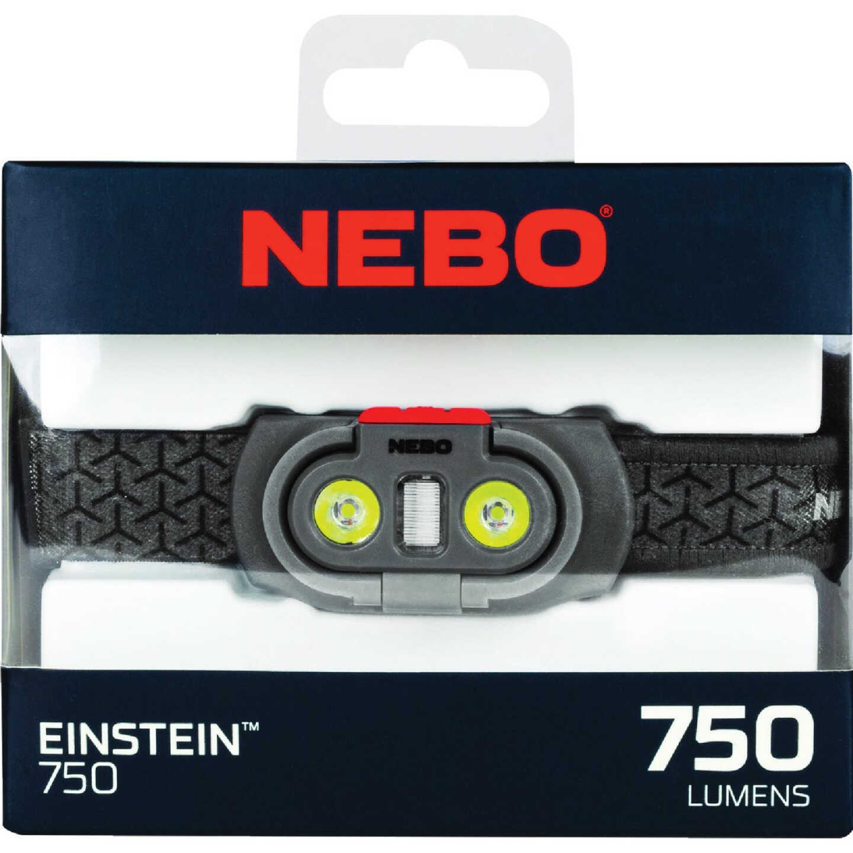 Nebo Einstein 750 Lm. LED 4AAA Headlamp Image 2