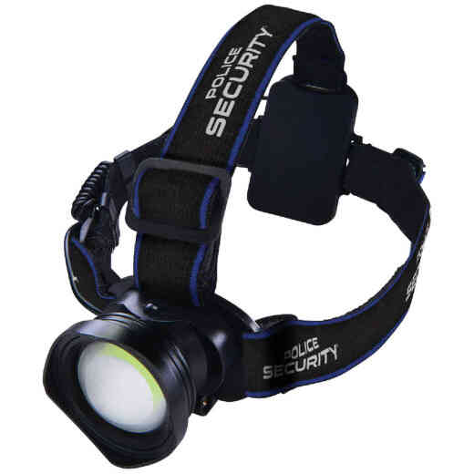 Police Security Breakout 400 Lm. 3 AAA COB LED Headlamp